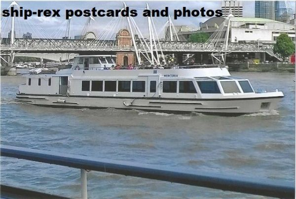 MERCURIA (Westminster Party Boats) photo